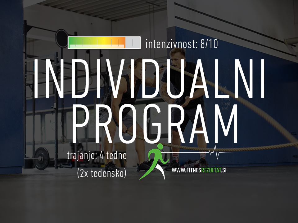 individualna vadba, individualni program